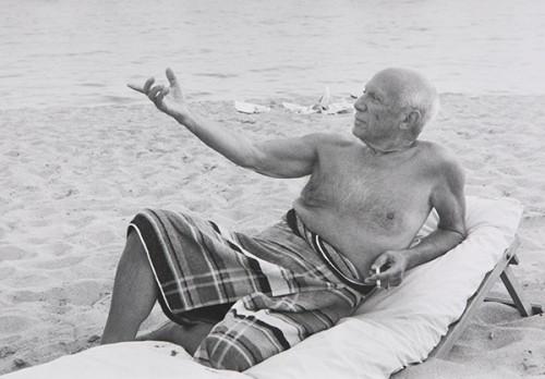 Lucien Clergue, Picasso, s.d.
